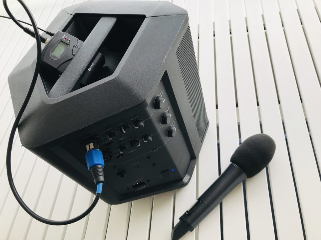 Best portable PA microphone system for wedding celebrants